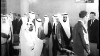 فيديو نادر لزيارة قام بها الشيخ زايد قبل تأسيس الإتحاد