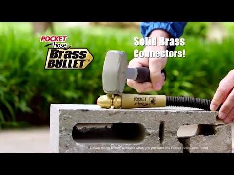 Is Brass Bullet Garden Hose as Strong as Commercials Suggest