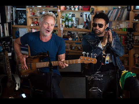 Sting And Shaggy NPR Music Tiny Desk Concert