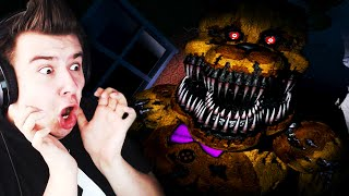 FREDBEAR ATAKUJE! THE BITE OF... 82?! (Five Nights At Freddy's 4 #6)