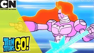 Teen Titans Go! | The Night Begins to Shine - Sing Along | Cartoon Network