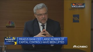 Piraeus Bank CEO: Greek election won
