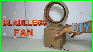 How To Make a Bladeless Fan At Home | DIY | Easy
