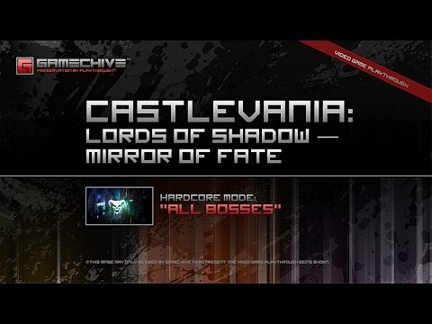 Castlevania: Lords of Shadow — Mirror of Fate (3DS/PS3) Gamechive (Hardcore Mode: All Bosses)