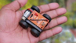 How to make a electric RC toy car at home easy | New idea!