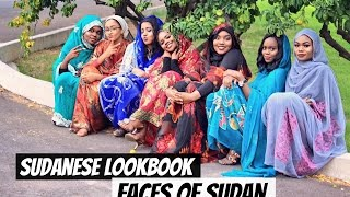 The Faces Of Sudan l Sudanses/Thoub Lookbook