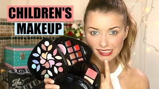 Does Children's Makeup Actually Work? CHILDREN'S MAKEUP CHALLENGE!
