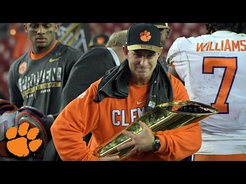 Dabo Swinney On National Title It s Special for Clemson Nation