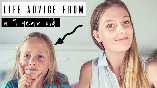 ADVICE FROM HANNAH AGE 9 | Theodora Lee