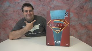 Superman Hot Toys BvS Special Edition Unboxing !!!