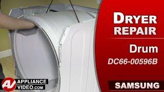 Diagnostic & Repair - Drum Assembly - Samsung Dryer