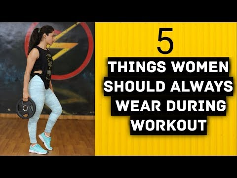 Xxx Mp4 WORKOUT CLOTHES WOMEN 5 Things Girls Should Wear To Gym MUST WATCH 3gp Sex