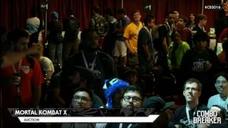 MKXL: Combo Breaker 2016 - Character Auction Tournament