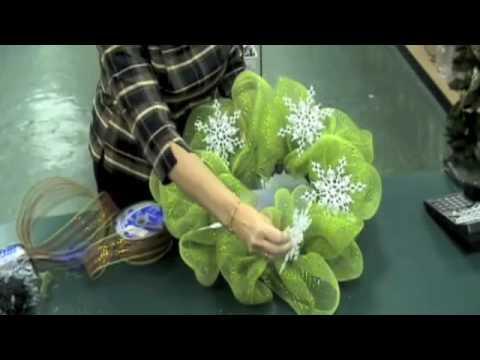 Geo Mesh Wreath Instruction Video