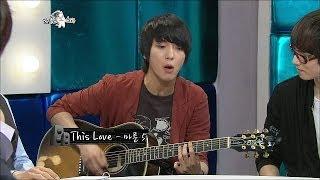 【TVPP】Jung Yonghwa(CNBLUE) - This Love (Maroon 5), 정용화(씨엔블루) - This Love (Maroon 5) @ The Radio Star