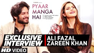Exclusive Interview with Zareen Khan, Ali Fazal   PYAAR MANGA HAI   T-Series