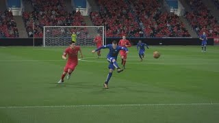 Jamie Vardy Wonder Goal vs Liverpool (FIFA 16 Remake)