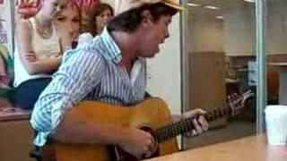Matt Wertz sings