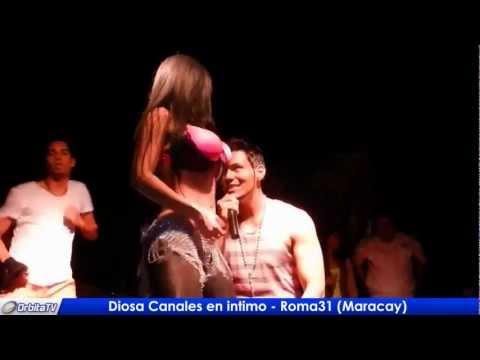 Diosa Canales en Intimo Bailando en Maracay