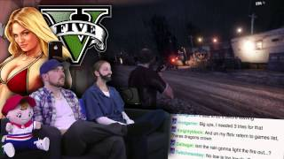 Trisha and Michelle Reunite! - Grand Theft Auto V is AWESOME! - Part 30