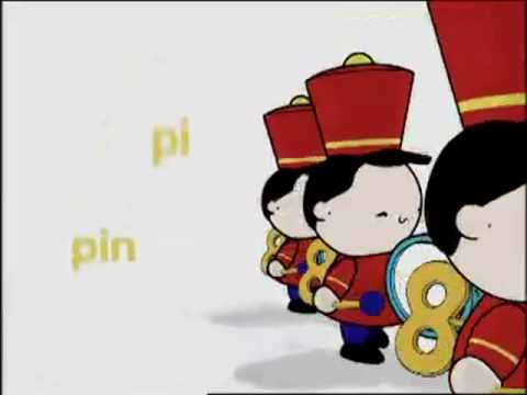 Doki Pin pirulin pun pin Silabas