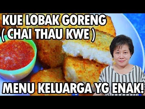 Resep : Kue Lobak Goreng (Chai Thau Kwe) Lezat!!!