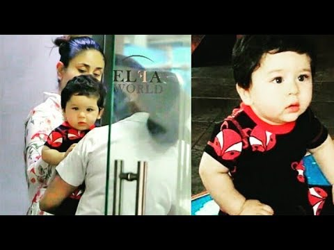 Kareena Kapoor Khan takes son Taimur Ali Khan for a play date with his freinds |😘