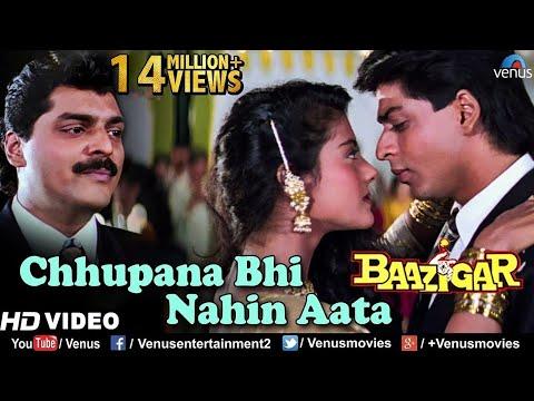 Xxx Mp4 Chhupana Bhi Nahi Aata HD VIDEO Baazigar Shahrukh Kajol Vinod Rathod 90 S Romantic Song 3gp Sex
