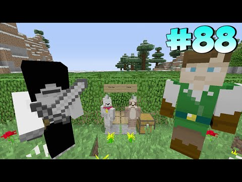 Minecraft Xbox Lets Play - Survival Madness Adventures - Murder Maze [88]
