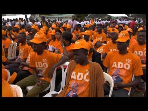 3e congrès du RDR : Meeting de mobilisation des jeunes du parti