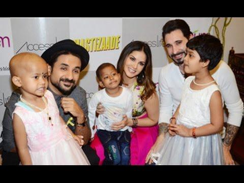 Sunny Leone's Cute Selfie With Kids & Vir Das | Mastizaade | Daneil Werber