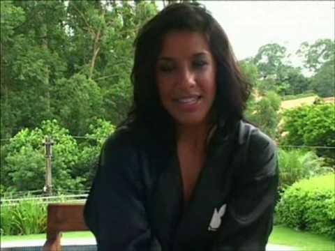 Scheila Carvalho Making of Revista Playboy