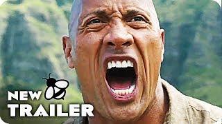 JUMANJI WELCOME TO THE JUNGLE Trailer 1 & 2 (2017)
