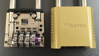 [631] Master Lock 875/975 Decoded WITHOUT ANY TOOLS !