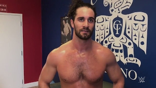 Seth Rollins' update on his knee as he trains days before WrestleMania 33
