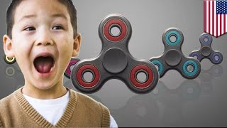 Fidget spinner craze: Fidget spinner mania is spiraling out of control - TomoNews