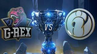 Mundial 2018: G-Rex x Invictus Gaming (Jogo 2) - Fase de Grupos - Dia 8