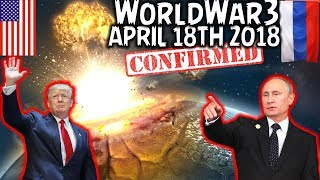 (THEORY) IS WORLD WAR 3 STARTING? WILL THE WORLD END APRIL 18th - CREEPY VOICEMAIL   TRUMP SYRIA