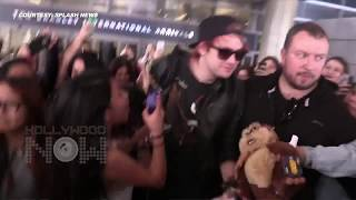 (Video) 5 Seconds Of Summer's Michael Clifford MOBBED And PULLED!