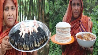 Mutton Nihari Recipe DELICIOUS Mutton Nihari & Ruti Curry Eid ul Azha Special Recipes Village Food