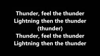 Imagine Dragons K Flay Thunder Remix Lyrics