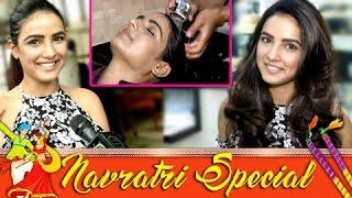 NAVRATRI SPECIAL : Jasmin Bhasin aka Twinkle's Hair Styling Tips