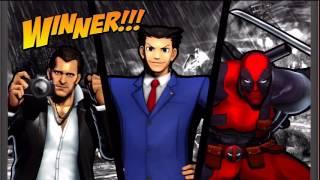 Ultimate Marvel vs  Capcom 3 - Deadpool/Frank West/Phoenix Wright Playthrough
