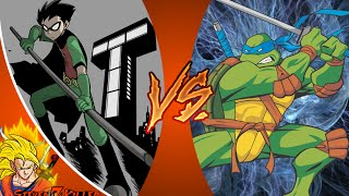 ROBIN vs LEONARDO! Cartoon Fight Club Episode 68 REACTION!!!
