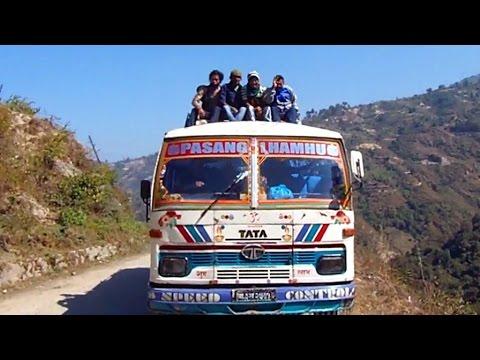 An Epic Himalayan Bus Journey, Nepal