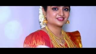 A kerala cinematic Hindu wedding highlights Rakesh +jyothi