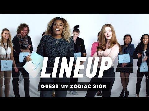 Guess My Zodiac Sign   Lineup   Cut
