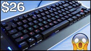 A $26 Mechanical Gaming Keyboard!!