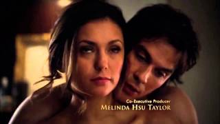 Damon and Elena 6x18 HD Bathroom Scene