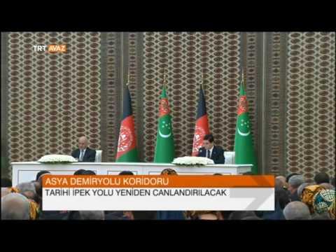 Türkmenistan Afganistan'a Uzanıyor - İpek Yolu Canlanıyor - TRT Avaz Haber
